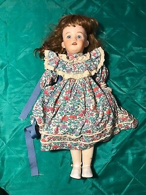 "21"" Antique German ""Santa"" Doll Simon & Halbig 1249 Bisque Head Reproduction"