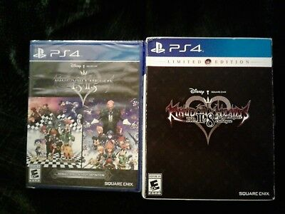 Read* sealed COMPLETE Kingdom Hearts ps4 (2lot) 1.5 2.5 +2.8 Limited Ed.(no pin)