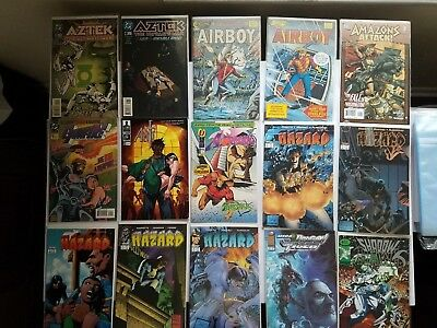 Mixed Comic Book Lot Of 15 Independent And Dc, Eclipse, Image And More. All Nm+