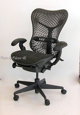 Herman Miller Mirra Hard Back, Fully Loaded Ergonomic Task Chair