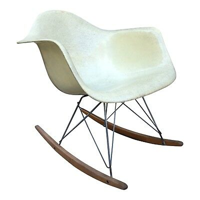 Eames Zenith Rope Edge Rocker — Iconic Mid Century Chair for Herman Miller