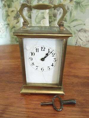 Antique brass Carriage clock to restore