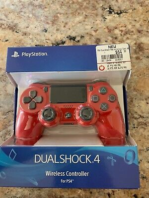 *BRAND NEW* DualShock 4 Wireless Controller Gaming Pad PlayStation 4 PS4 Red Clr