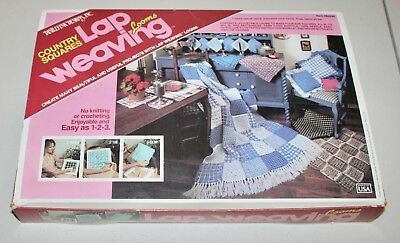Vintage Distlefink Designs Country Squares Lap Weaving Looms Not Complete