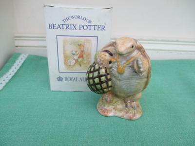 Royal Albert Beatrix Potter Figure ALDERMAN PTOLEMY - 1st quality & Boxed