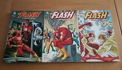 The Flash By Geoff Johns TPB Collection vol 1 2 3 DC Comics VG condition