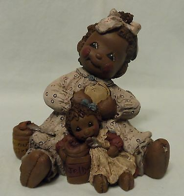 "All Gods Children ""punkin"" Martha Holcombe Rag Doll Figurine #23"