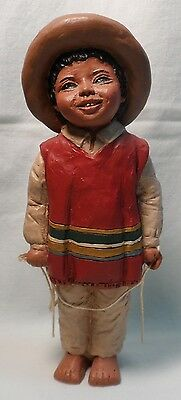 "All Gods Children ""juan"" Martha Holcombe Figurine #38 God Is Love"