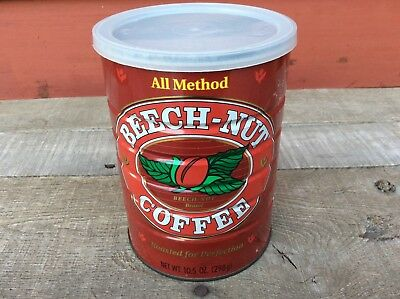 Beech-Nut Coffee Vintage Tin With Lid