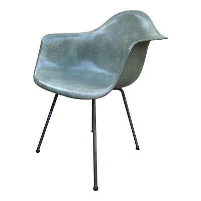 Eames for Herman Miller Seafoam Green DAX Zenith Rope Edge Chairs