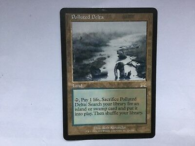 Polluted Delta Onslaught NM MTG Magic English