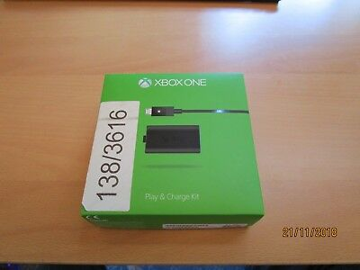 Xbox one play and charge kit empty box only