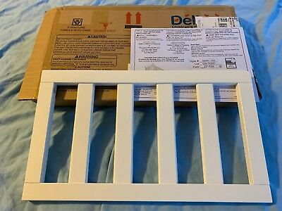 Delta Children Toddler Bed Guard Rail, White