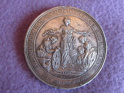 1876 100th ANNIVERSARY AMERICAN INDEPENDENCE