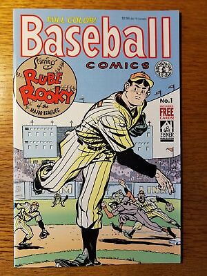 Baseball Comics #1 (1991, Kitchen Sink Press) includes cards
