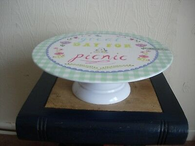 "Debenhams - Lovely Cake Stand By ""at Home With Ashley Thomas"" - Rrp £20 - New"