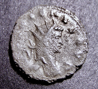 GALLIENUS, Abundance & Fertility in Rome, Silvered Imperial Roman Emperor Coin