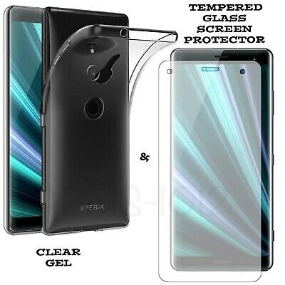 Tempered Glass Screen Protector For Sony Xperia XZ3 XZ2 XA2 1 Ultra X Z L1 L2 Z5