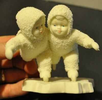 Snowbabies Dept 56 WE MAKE A GREAT PAIR With Box
