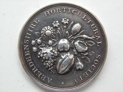 Aberdeenshire Horticultural Soc 1954 Silver ? medal Decorative