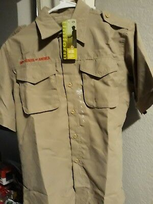 boy scout shirt youth large YOUTH