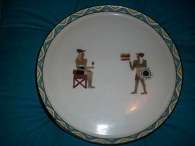 Antique Nippon Morimura Brother Egyptian  Hand Painted Plate.