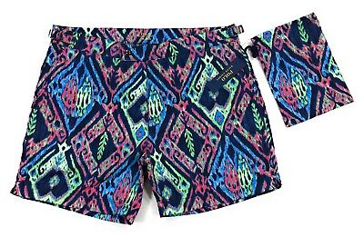 3634ec1046 POLO RALPH LAUREN Monaco Swim Trunks Mens Size 35 Mesh Lined Shorts ...