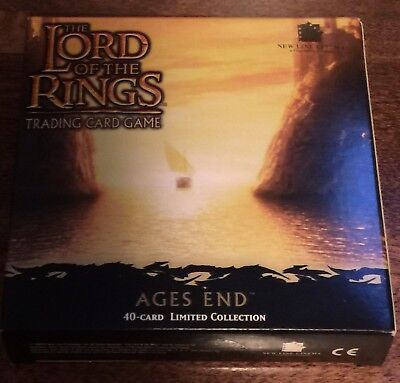 The Lord of the Rings Trading Card Game Ages End Decipher