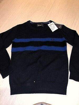 Boys Fred Perry Jumper 5/6