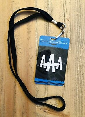 THIRD MAN RECORDS AAA Backstage Pass - Blue Room Jack White RARE