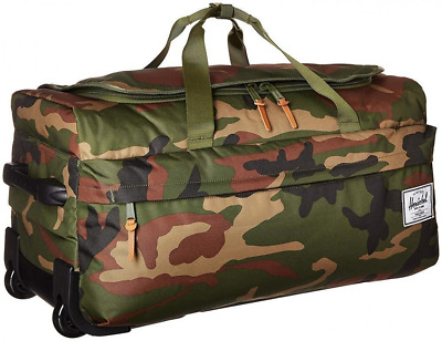 6a010deca2 Herschel Supply Co. Wheelie Outfitter Rolling Bag Suitcase Woodland Camo  NEW !