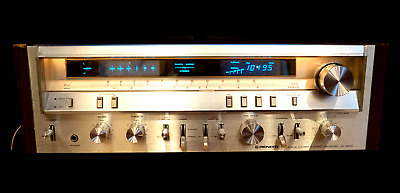 Pioneer SX-3800 Stereo Receiver 60 Watts per Channel, 80's, Vintage, AM/FM