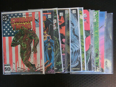Swamp Thing Vol 2, job lot of Verigo comics, Alan Moore, Rick Veitch