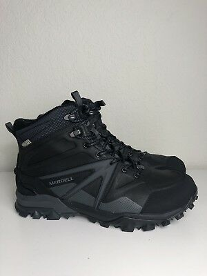 e91fa957d1f MERRELL CAPRA GLACIAL Ice Mid Waterproof Leather Support Boots Men's 9.5