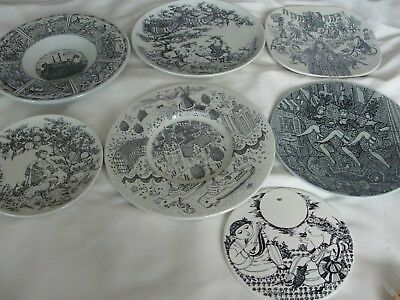 Bjorn Wiinblad Nymolle Different Items Plate Or Dish