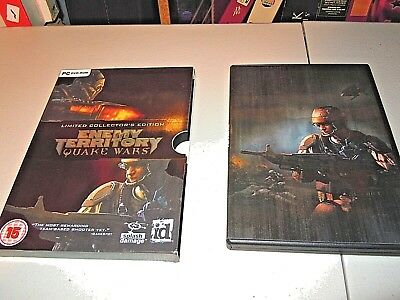 Quake wars Enemy Territory Limited  Collecors edition,  PC game FAST post  VGC