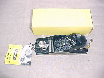 Stanley No 9 1/2 Block Plane MINT in the Box Looks Unused low start & NO reserve