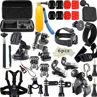 33 in1 Kit Accessories Chest Mount Case Set For GoPro Hero 1 2 3 4 Camera US NEW
