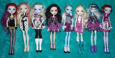 monster high and ever after (lot)