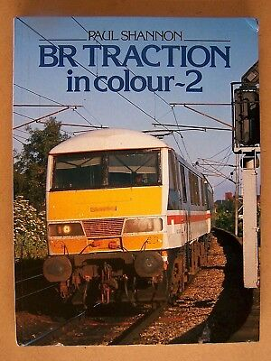 """""""br Traction In Colour - 2."""" Railway Trains Book."""