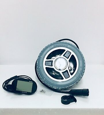 8 INCH WHEELCHAIR WHEELS &  Smart Display for Magic Pie 5
