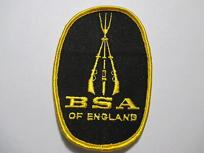 BSA Of England Patch 3 x 4 1/4 inches