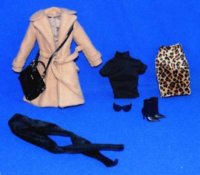 Classic Camel Coat Barbie outfit Only 2015 Fits Silkstone dolls