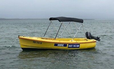 Savage Dolphin 16 ft boat