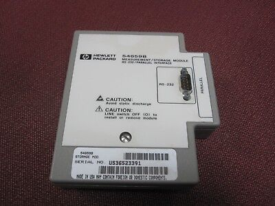 Hewlett Packard 54659B Measure Storage Parallel and RS 232 Interface Module