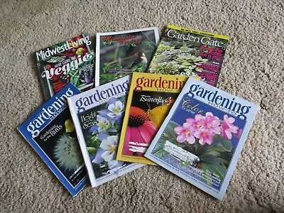 7 LOT Gardening How To Issues Design Projects Farm Home Garden Gate 1999 plants