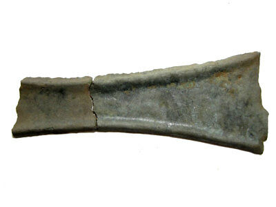 Extremely Rare Bronze Age Proto Money Half Ingot, Part Of A Hoard+++
