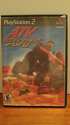 Playstation.2 Atv Offroad Fury Video Game. Rated E