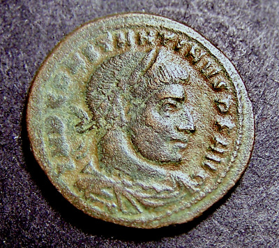 CONSTANTINE I, Radiate Sun Worship, Winter Solstice in Rome, Imperial Roman Coin