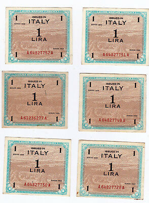Military Currency, Italy, 1 Lire